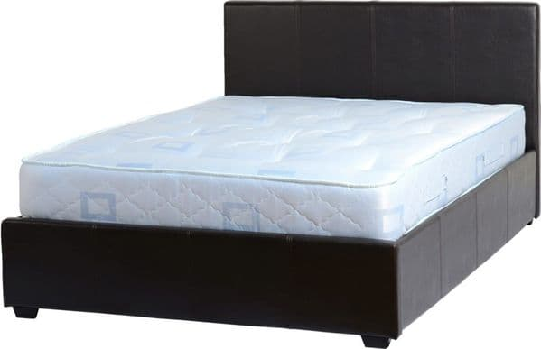 Lucy Double Storage Bed Black